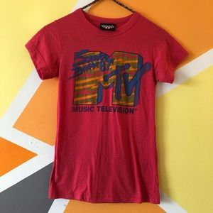 MTV Fitted T-Shirt